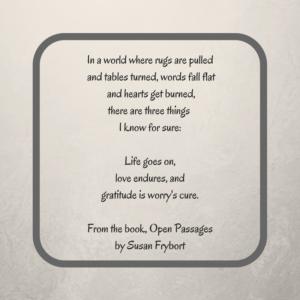 Open Passage - S. Frybort